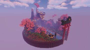 Asian Themas  SkyBlock Spawn | OrigamiPorjects Minecraft Map & Project