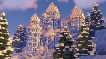 ❆ Ice Castle ❆   The Loft MC Minecraft Map & Project