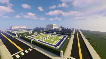 Country Club map with Schematic Minecraft Map & Project