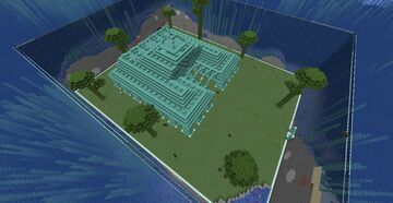 Scarecrow Arsenal Estates - Ocean - Gamer Haha's Survival Map #3 (Ocean Monument House) Minecraft Map & Project