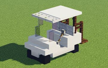 Another Golf Cart Minecraft Map & Project
