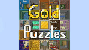 Gold Puzzles Minecraft Map & Project