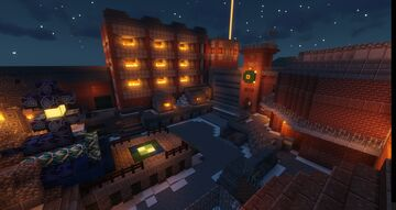 Fully Working The Giant (Der Riese) COD Zombies Map! Minecraft Map & Project