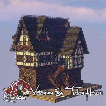 Victorian Era Tudor House #3 Minecraft Map & Project