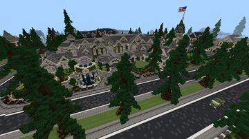 City of Infinite (Neighborhood mansions) Minecraft Map & Project
