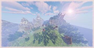 Isle of Harthome // A [1000x1000] Medieval Minecraft Map Minecraft Map & Project