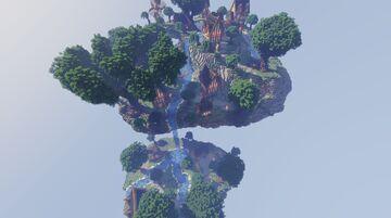 Sky Hub Spawn Minecraft Map & Project