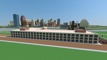 Factory Renovated Into Office Space: Oakwood City Minecraft Map & Project