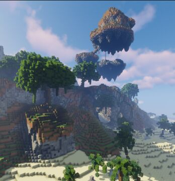 The Islands Minecraft Map & Project