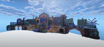 Tomorrowland Belgium 2019 Mainstage Build I The Book Of Wisdom Minecraft Map & Project