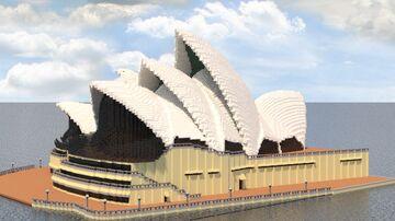 Sydney Opera House Minecraft Map & Project