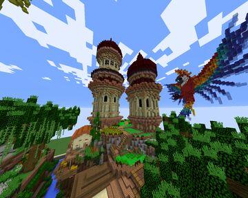Papagallo Minecraft Map & Project