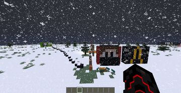 YOUTUBER PARKOUR AND COMBAT Minecraft Map & Project