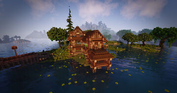 Rustic Fishery (Fishing Hut) Minecraft Map & Project