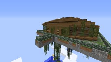 Abandoned Sky Mansion FREE Minecraft Map & Project