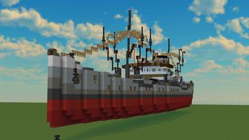 French marchand ship in Shematic ! Minecraft Map & Project