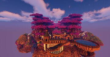 Build a Skyblock Spawn Minecraft Map & Project