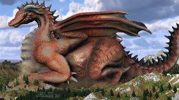 Terracotta Dragon Minecraft Map & Project