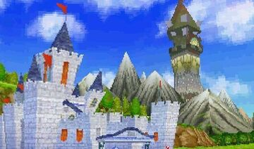 Legend of Zelda: Hyrule Castle and Tower of Spirits [Full Interiors] Minecraft Map & Project
