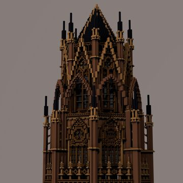 Gothic tower Minecraft Map & Project