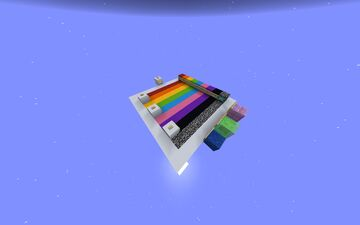 Rainbow Parkour (obscenely hard) Minecraft Map & Project