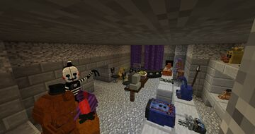 fnaf maps Minecraft Map & Project