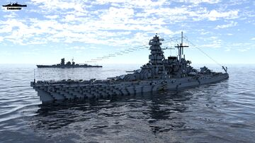 IJN Iwami 1:1 Scale Tajima class (Fictional Battleship) Minecraft Map & Project