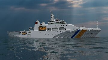 Vietnam Coast Guard Dn2000 class (remake 2020) Minecraft Map & Project