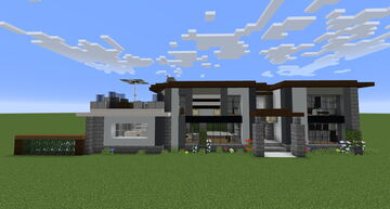 1x3 House Minecraft Map & Project