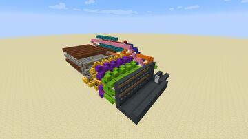 20 buttons digicode door Minecraft Map & Project