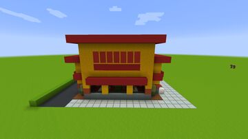 Popeyes Chicken Fast Food Minecraft Map & Project