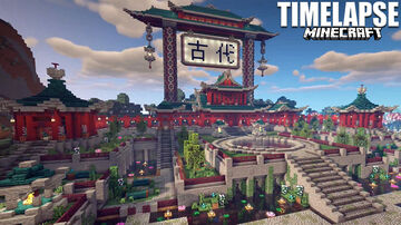 Kodai No Jiin. Temple of Ancients. Japanese Tutorial Series. Minecraft Map & Project