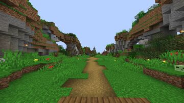 Survival Server Spawn Natural Minecraft Map & Project