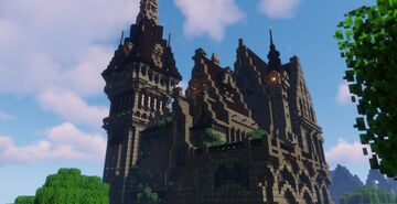 Medieval Hamburg by OlivierWaffle Minecraft Map & Project