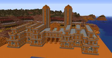 Mesa Biome Project 2 Minecraft Map & Project