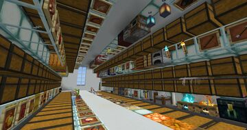 Item Sorting Warehouse 1.16 Minecraft Map & Project
