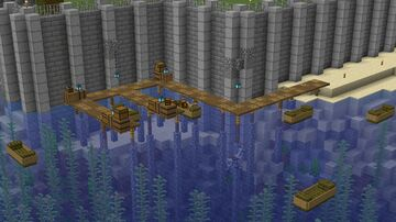 Quaint Little Dock on SingularityMC Minecraft Map & Project
