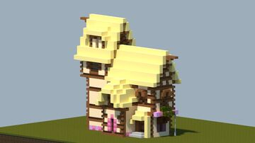 MLP Ponyville home [With Interior and Download] Minecraft Map & Project