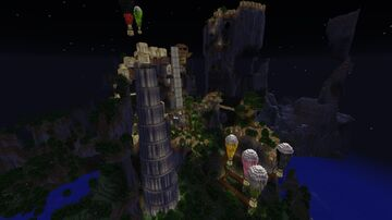 Huion FREE BUILD Minecraft Map & Project