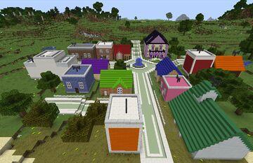 Modernized Village Minecraft Map & Project