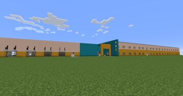 Harns Marsh Elementary School Minecraft Map & Project