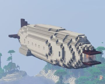 Imperial Navy Destroyer REFIT-1 (L-Corp.) for movecraft Minecraft Map & Project