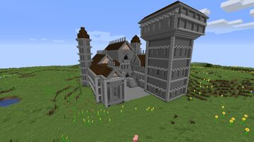 Castle (SERVER MAP) Minecraft Map & Project