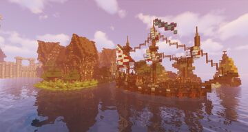 Epic Medieval Spawn (1) - Minecraft Cinematic + Free Download Minecraft Map & Project
