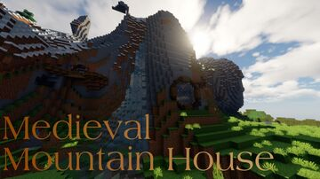 Medieval Mountain House 2 Minecraft Map & Project