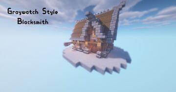 Medium Medieval Blacksmith Minecraft Map & Project