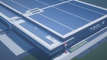 Tesla Assembly Plant Minecraft Map & Project