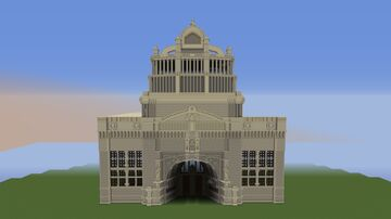 Victoria & Albert Museum 4:1 Scale Project Minecraft Map & Project
