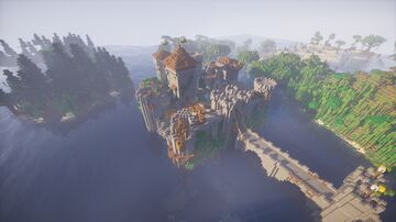 Secluded Keep Minecraft Map & Project