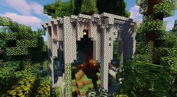 Druid Temple Minecraft Map & Project